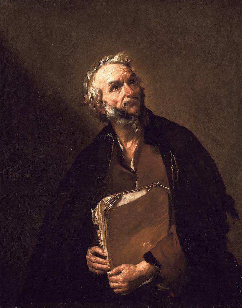 O φιλόσοφος - Χοσέ Ριμπέρα - 1637
