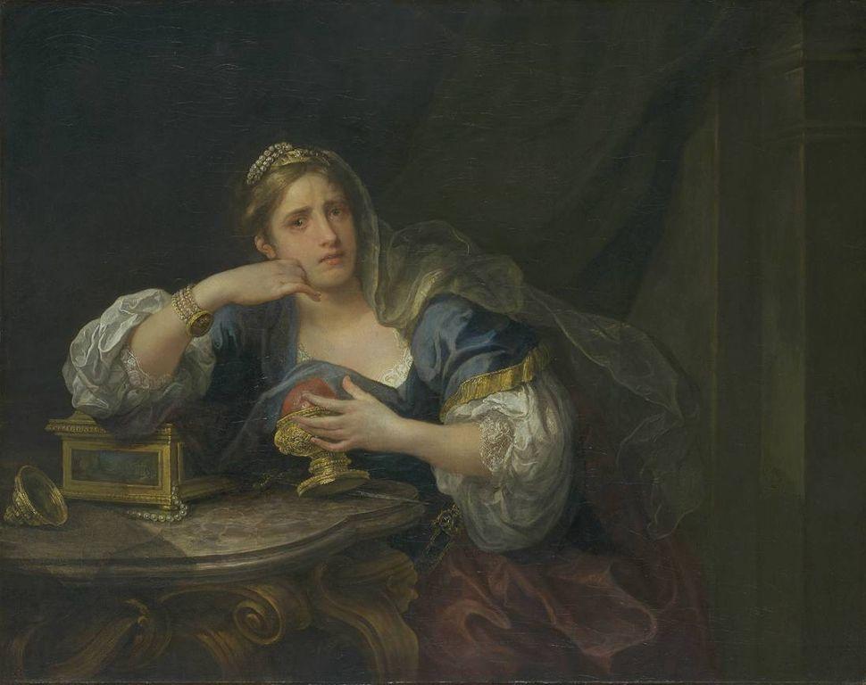 η Sigismunda πενθεί πάνω από την καρδιά του Guiscardo - William Hogarth