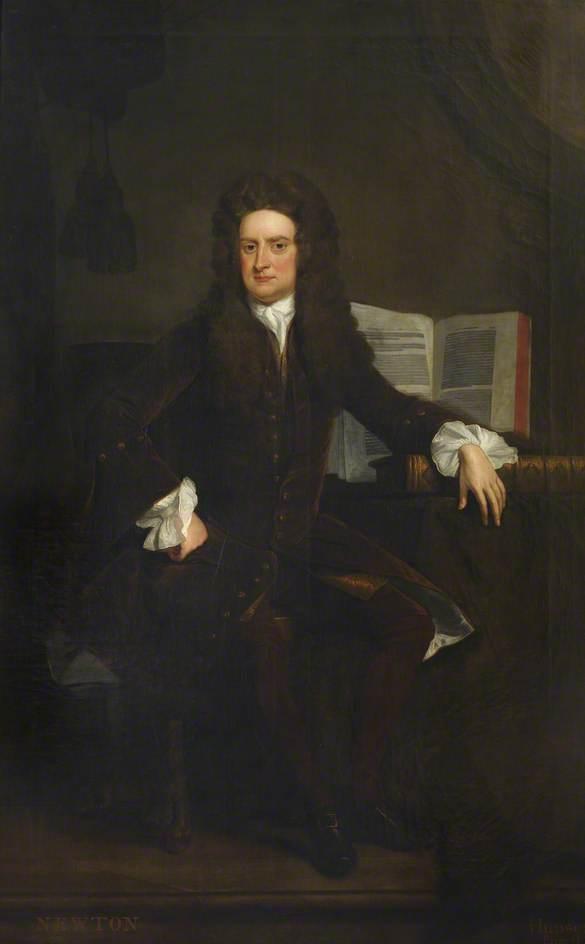 Ισαάκ Νεύτων, φυσικός φιλόσοφος και μαθηματικός Thomas Hudson