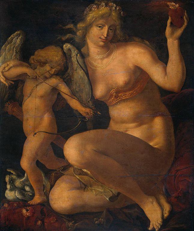 Η Αφροδίτη και ο Έρως - Jacob de Gheijn - 1565