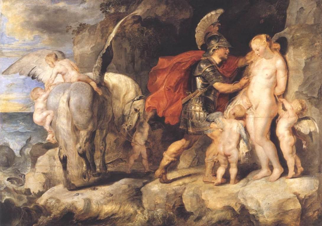 Ο Περσέας ελευθερώνει την Ανδρομέδα Peter Paul Rubens - 1622