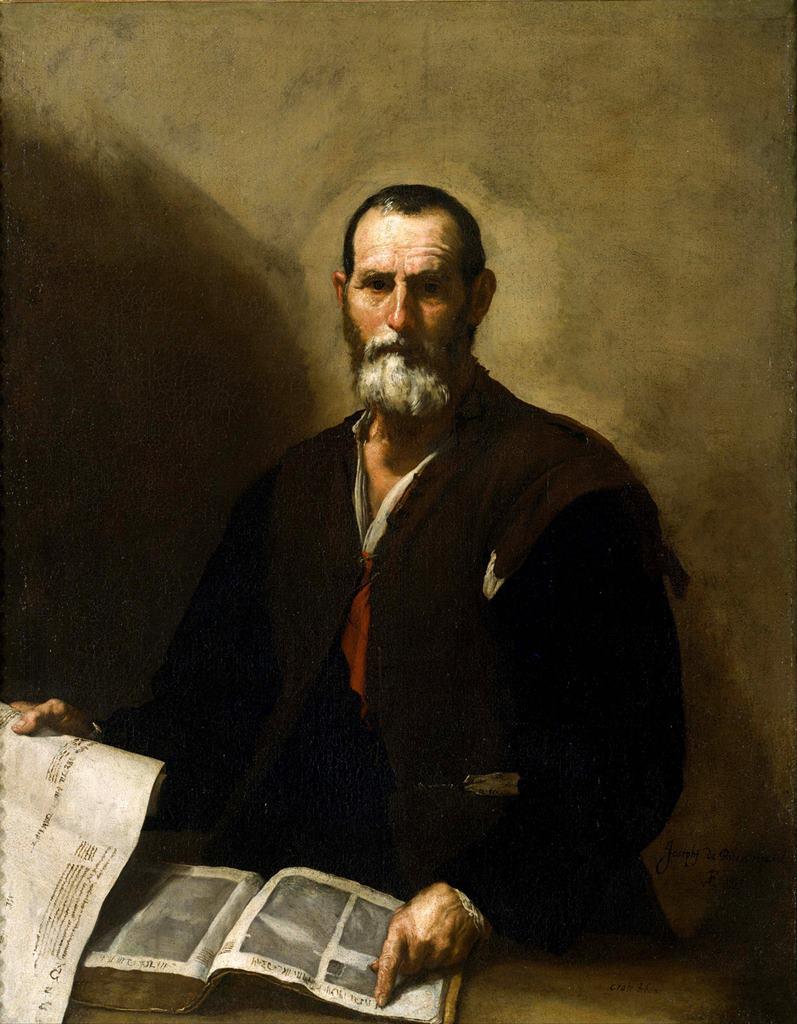 Ο φιλόσοφος Κράτης - Jusepe de Ribera - 1636