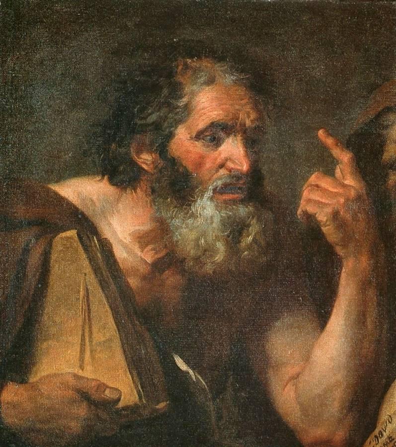 ένας φιλόσοφος - Jacques-Louis David - 1779