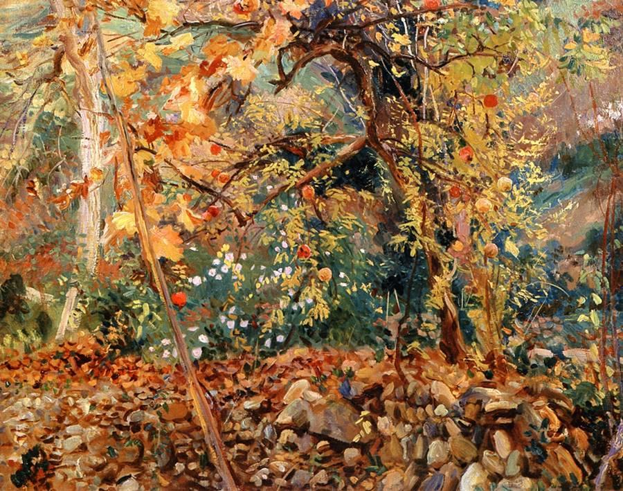 Valdemosa: Ροδιές - John Singer Sargent - 1908