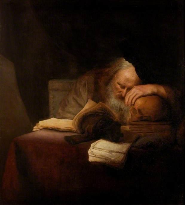 φιλόσοφος -Salomon Koninck - circa 1640-1655
