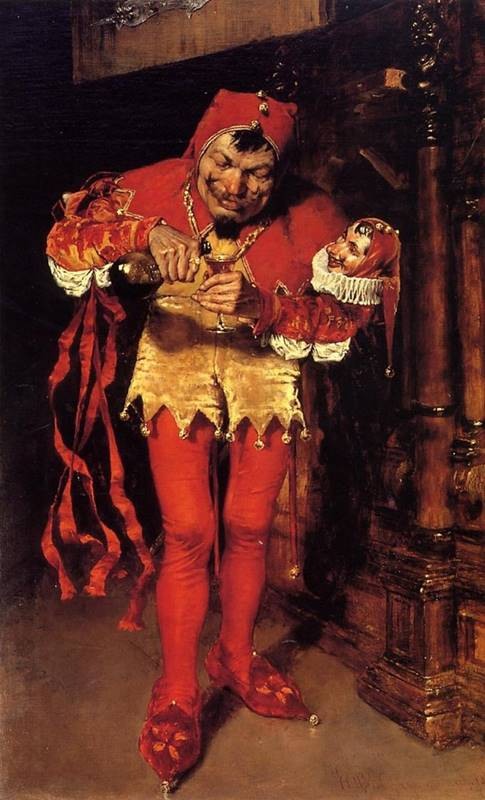The Court Jester - William Merritt Chase