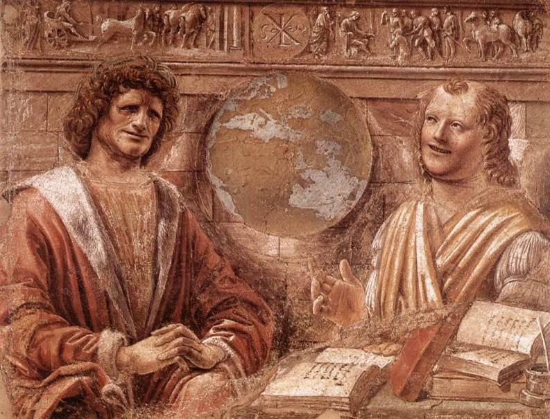 Ο Δημόκριτος γελάει κι ο Ηράκλειτος κλαίει - Bramante