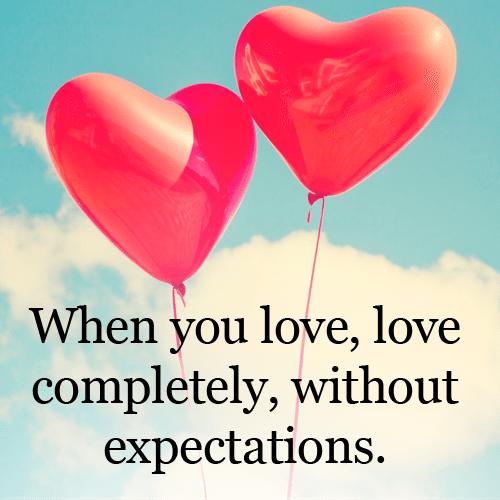 Κι όταν αγαπάς να μην περιμένεις ανταλλάγματα, άσε τον άλλο να σε ποδοπατήσει για να αγγίξεις την ευτυχία (TheWellness.com/Facebook)