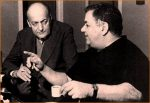Όταν η μουσική ιδιοφυΐα του Μάνου Χατζιδάκι συνάντησε τον τέλειο ποιητικό λόγο του Νίκου Γκάτσου.