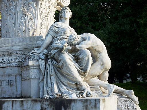 villa-borghese-goethe-monument