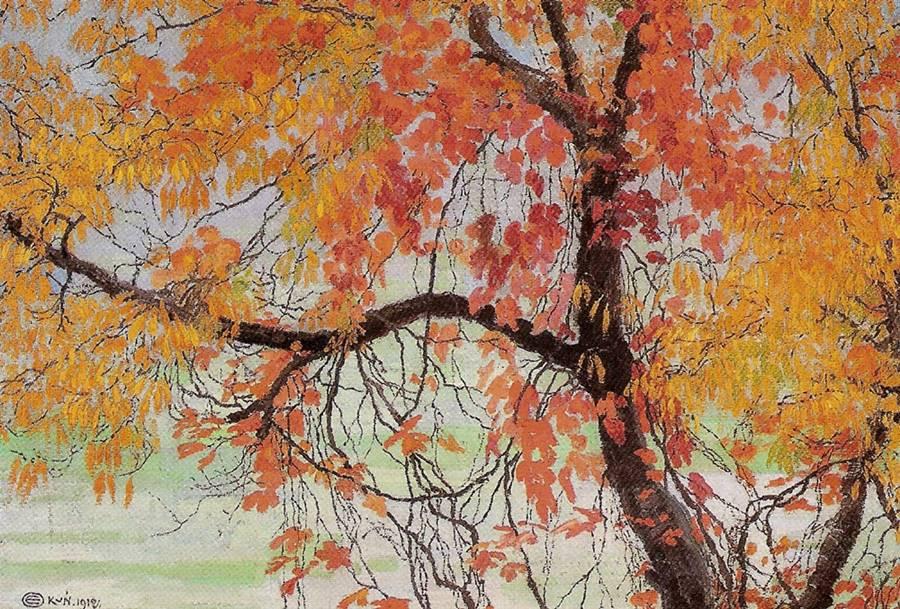 Φύλλα του φθινοπώρου -Edward Okun - 1912