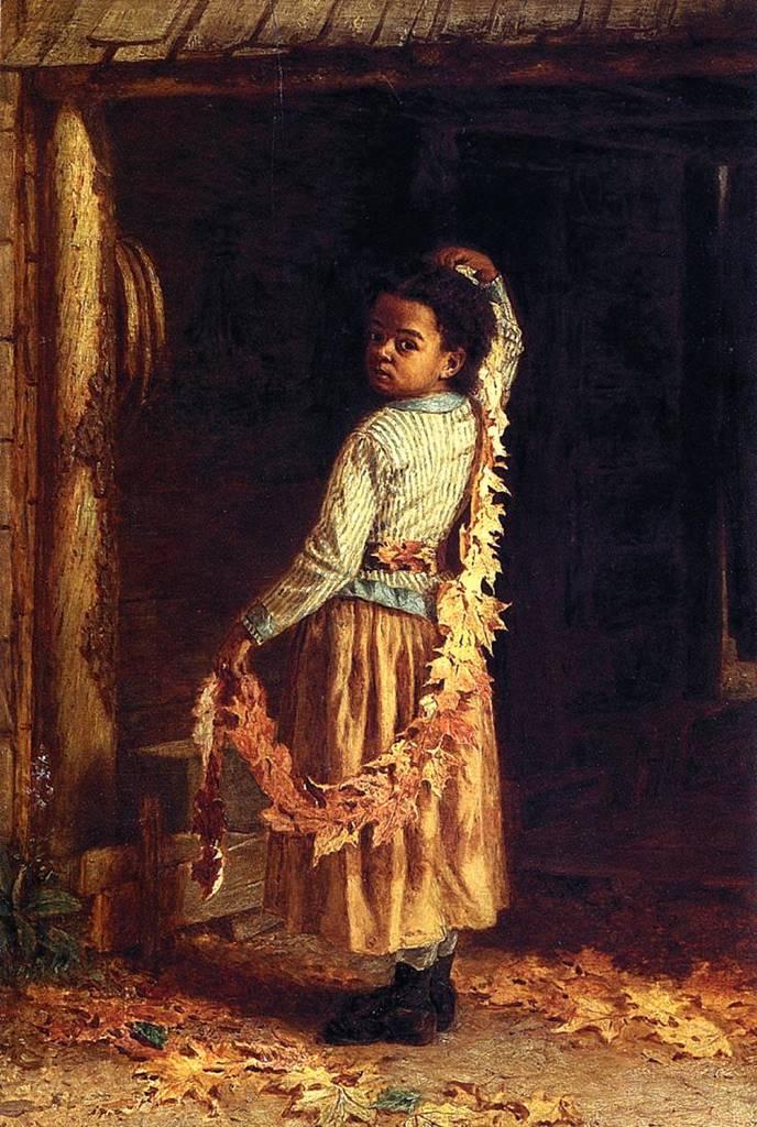 φθινοπωρινά φύλλα - Thomas Waterman Wood - 1877