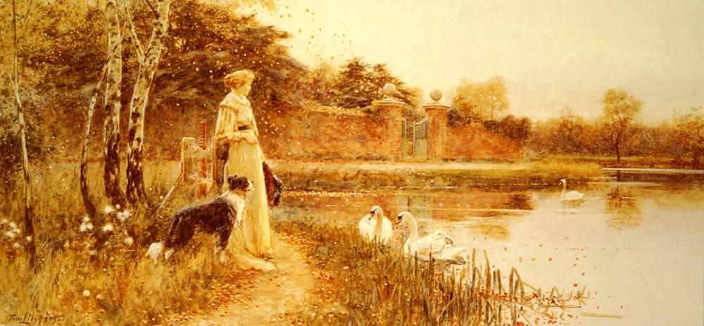 φθινοπωρινά φύλλα -Thomas James Lloyd