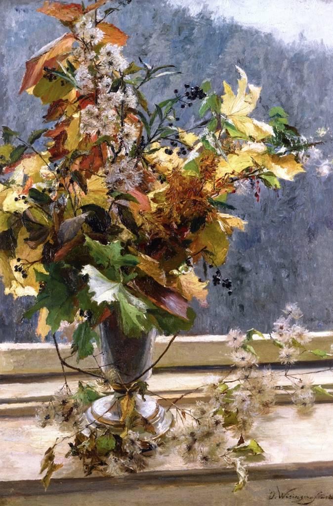 φθινοπωρινά φύλλα - Olga Wisinger-Florian