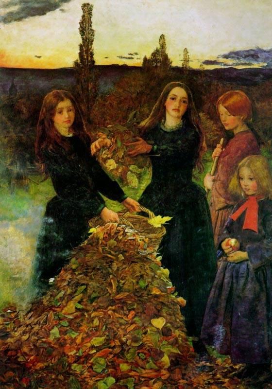 Φύλλα του φθινοπώρου - Sir John Everett Millais - 1855-1856