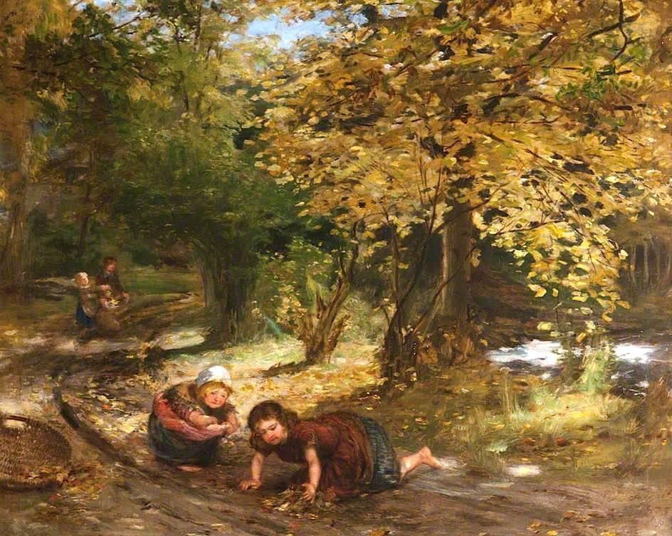 Φύλλα του φθινοπώρου- William McTaggart, R.S.A., R.S.W.