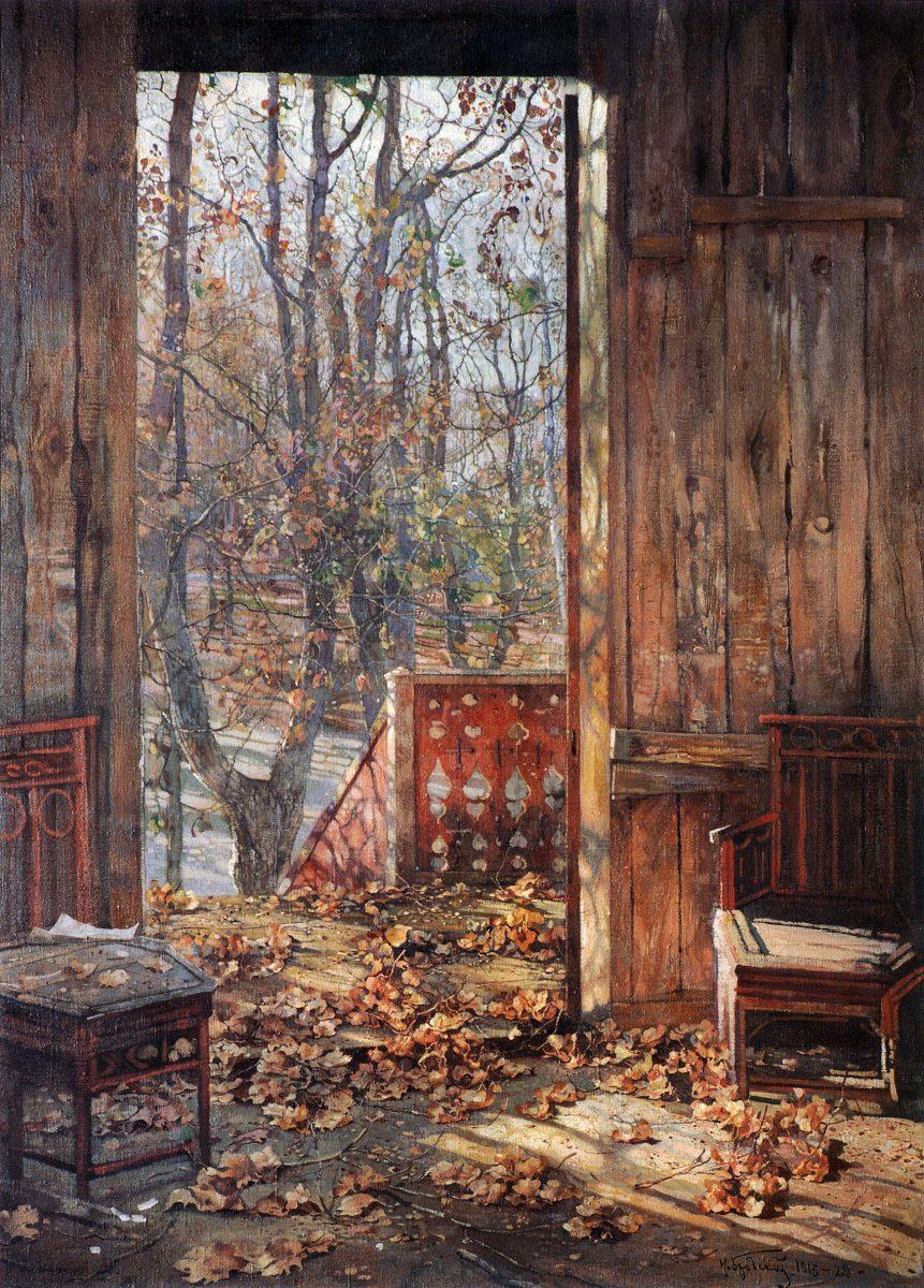 πεσμένα φύλλα - Isaak Brodsky - 1929