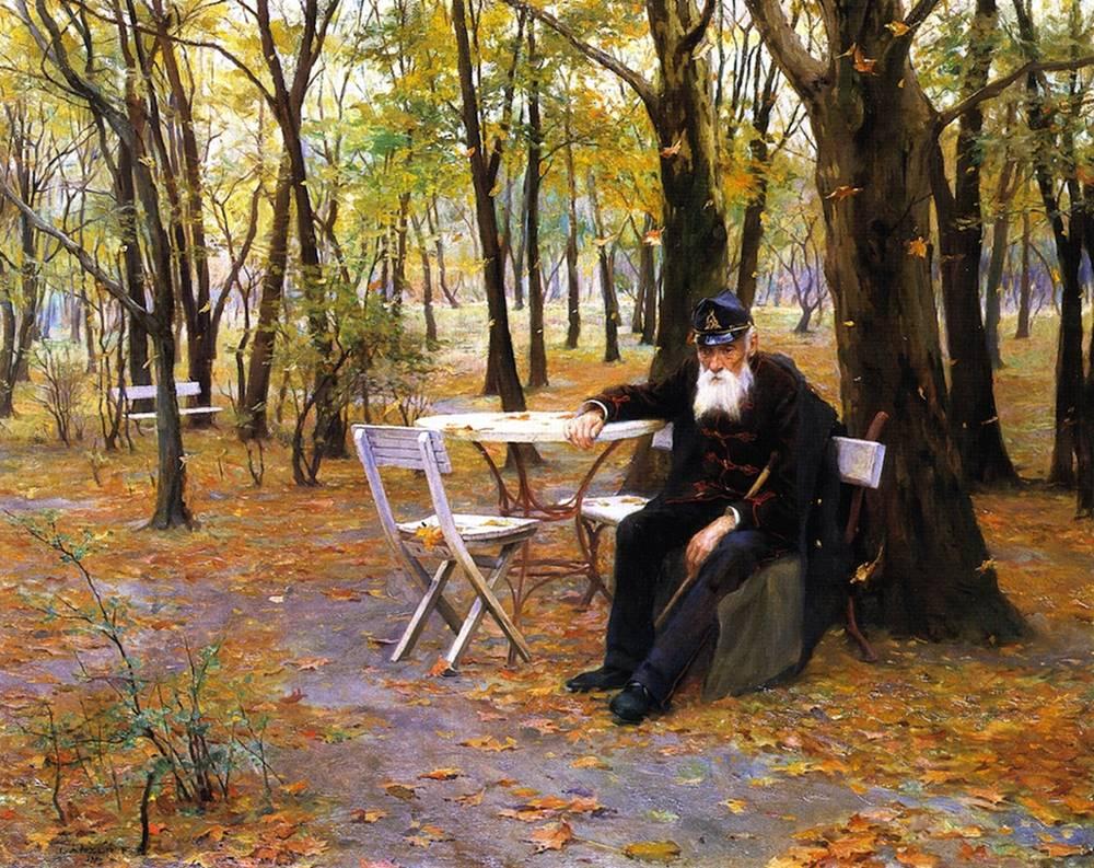 Τα πεσμένα φύλλα - Philip Alexius de László - 1895