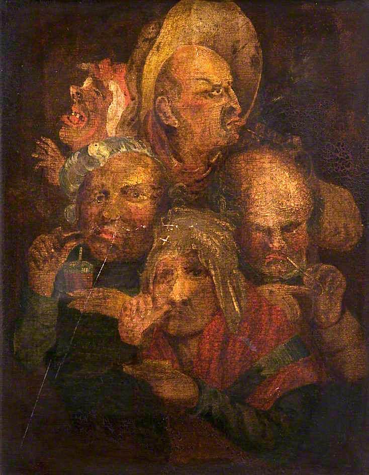 Τα ανθρώπινα πάθη - John Collier - 1779