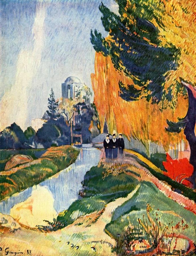 Πωλ Γκωγκέν, Les Alyscamps 1888