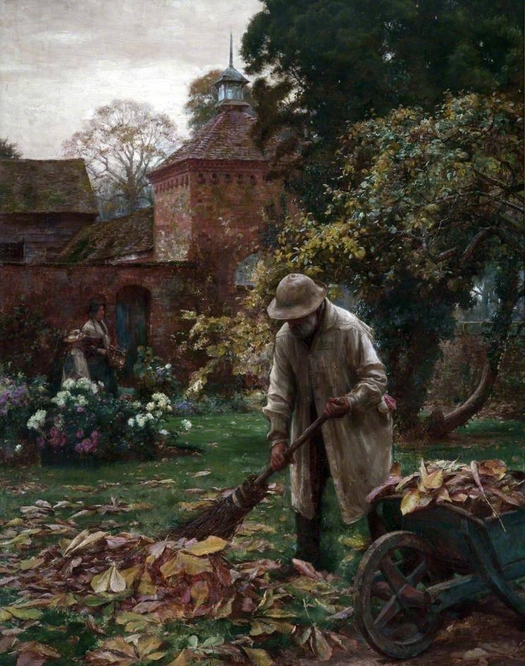 Όταν πέφτουν τα φύλλα - William Teulon Blandford Fletcher