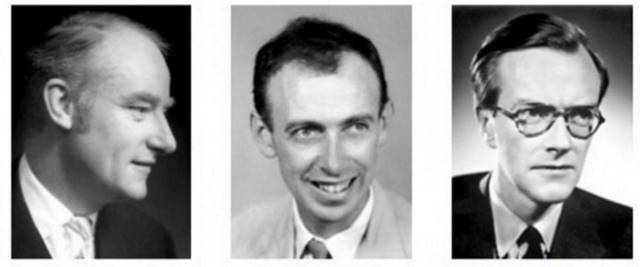 Οι νικητές του '62: Francis Harry, James Dewey Watson, Maurice Hugh Frederick Wilkins