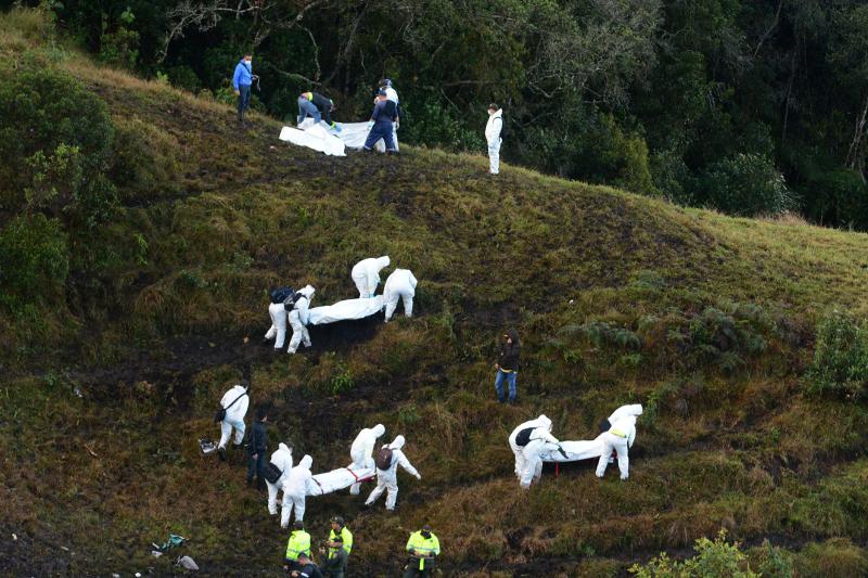 Κολομβία: Η συντριβή του αεροπλάνου που ξεκλήρισε την ομάδα Τσαπεκοένσε -29/11 (AP Photo/Luis Benavides, File)