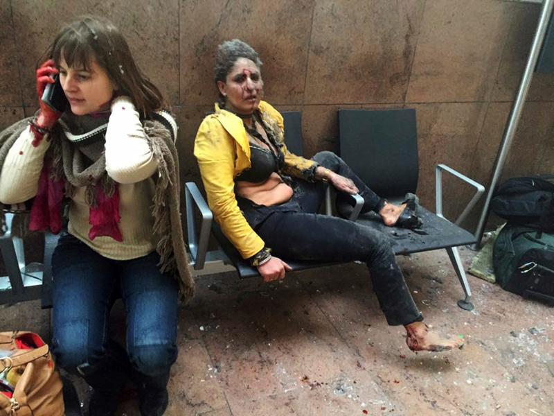 Βρυξέλλες: Τρομοκρατική επίθεση στο αεροδρόμιο Ζαβεντέμ 22/3 (AP Photo/Michel Spingler, File)