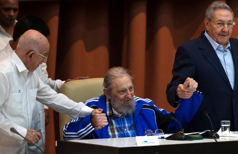 Κούβα: Από τις τελευταίες φωτογραφίες του Φιντέλ Κάστρο -19/4 (Ismael Francisco/Cubadebate via AP, File)