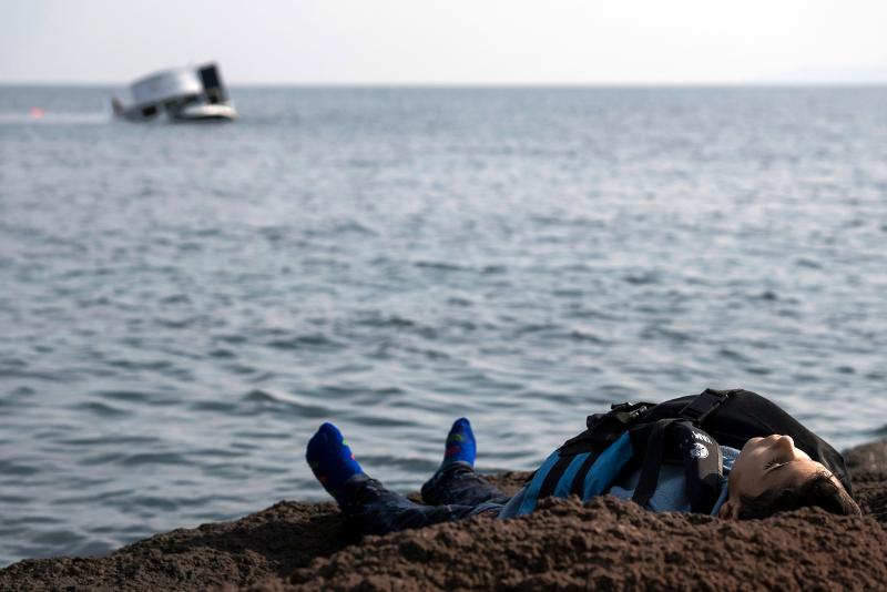 Τουρκία: Νεκρό προσφυγόπουλο -30/1 (AP Photo/Halit Onur Sandal, File)