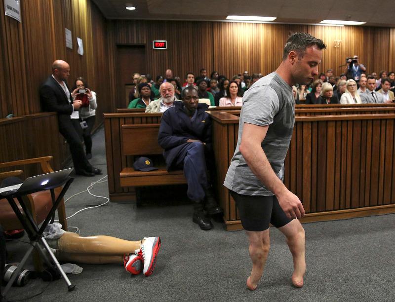 ΗΠΑ: Δίκη Οσκαρ Πιστόριους 15/6 (Siphiwe Sibeko via AP, Pool, File)