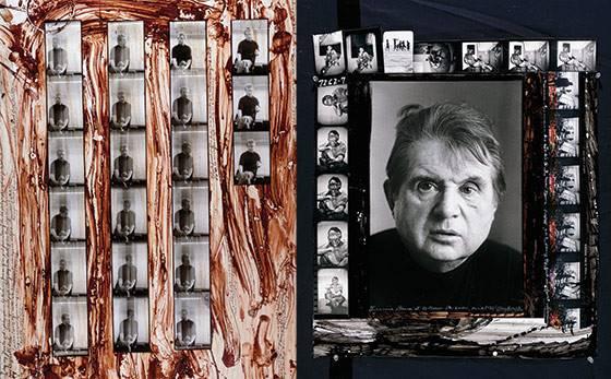 Σελίδες από το Ημερολόγιο του Peter Beard με αναφορά στον Φράνσις Μπέικον