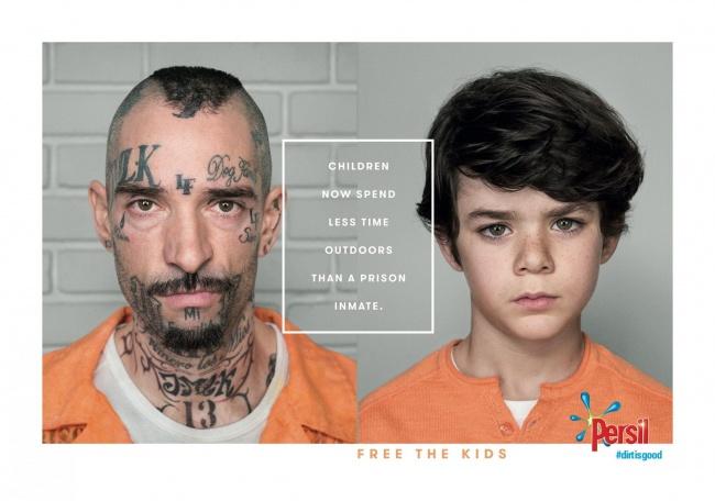 Τα παιδιά ξοδεύουν λιγότερο χρόνο σε εξωτερικούς χώρους από ό, τι ένα τρόφιμος των φυλακών.