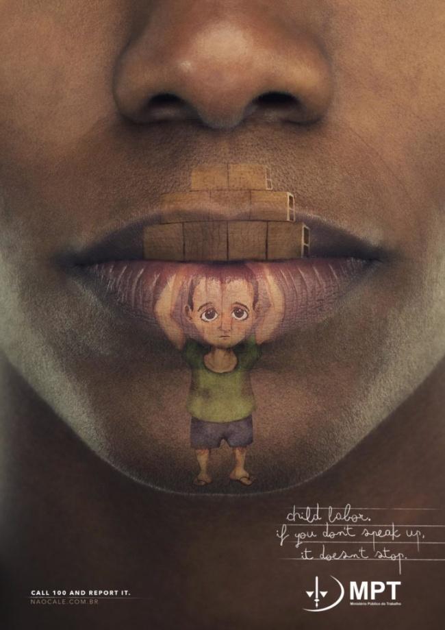 Παιδική εργασία. Αν δεν μιλήσουμε, δεν θα σταματήσει.