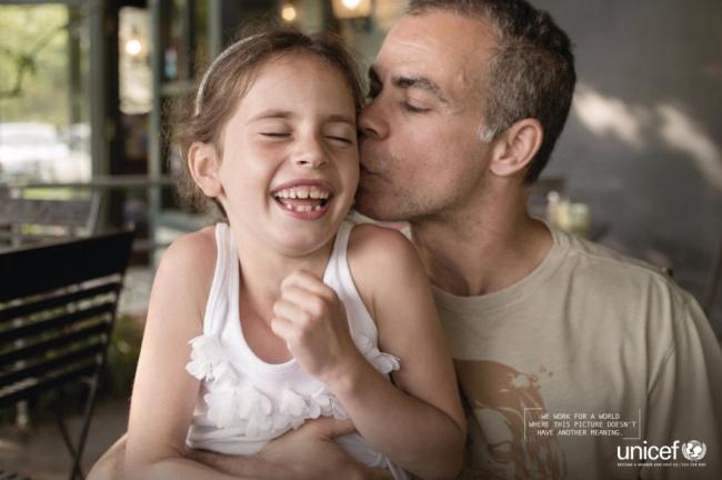 UNICEF: Δουλεύουμε για έναν κόσμο όπου αυτή η εικόνα δεν θα έχει κανένα νόημα.