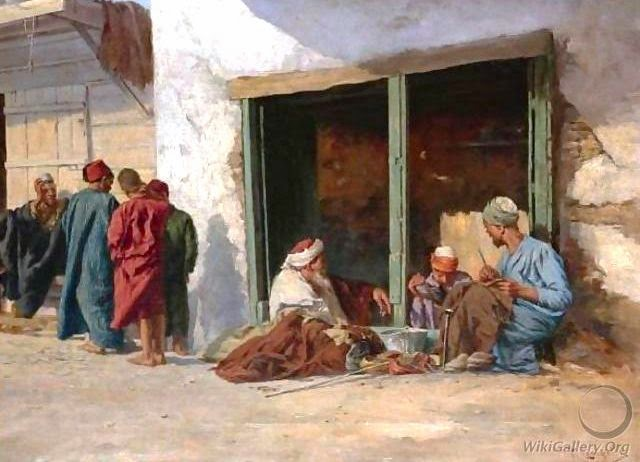 The Shoemakers, by Pericles Tsirigotis