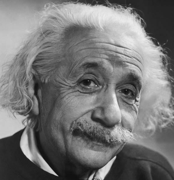 Ο Αϊνστάιν στον υπόγειο σιδηρόδρομο!