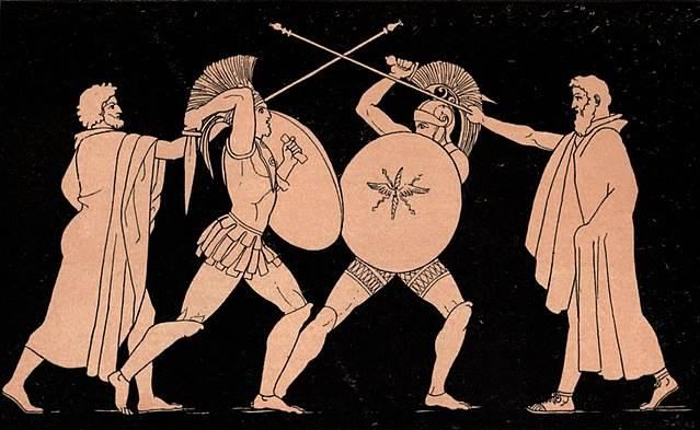Οι Άβαντες του Ελεφήνορα και οι ωραίες της Έδεσσας