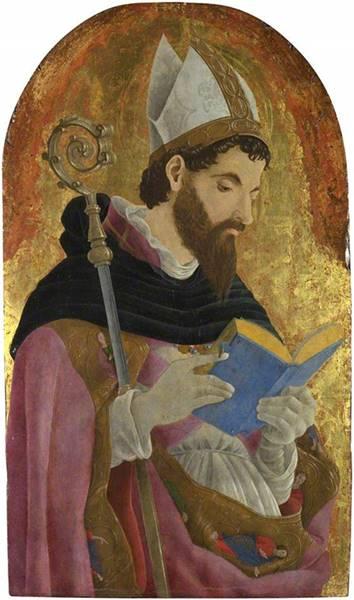 Άγιος Αυγουστίνος - Marco Zoppo - περίπου 1468
